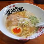 ラー麺 ずんどう屋 - 料理写真:和風らーめん830円