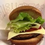 91542209 - 「モーニング野菜チーズバーガー(ドリンクセット)」(570円)