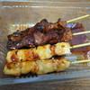とり正 - 料理写真:焼鳥2本ときも焼2本で360円