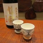 91545167 - 日本酒、ワインお任せで6