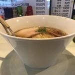 麺絆英 - 朝らーめん醤油500円