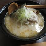 あなぐらぁー - 料理写真:中山らーめん 650円 (2018.8)