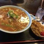 奈良屋 - 味噌ラーメンセット