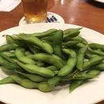 アサヒスーパードライ - 枝豆