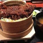 会津 田舎家 - 料理写真:ソースかつ丼