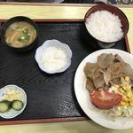 91547834 - しょうが焼き定食¥850
