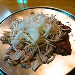 駿河屋 - 料理写真:ホルジン (ホルモン×2人前  ジンギスカン×2人前)