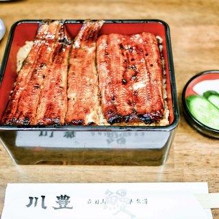 川豊 - 料理写真:■上うな重 3600円
