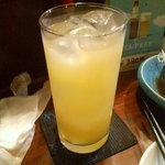 しんざと - グレープフルーツジュース