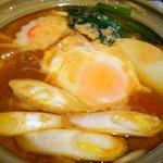 満留賀 - 料理写真:味噌煮込みうどん