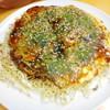 Sekandohausu - 料理写真:お好み焼き 680円