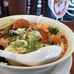 幸楽苑 - 台湾野菜まぜめん…