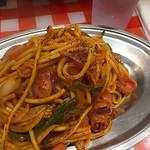 スパゲッティーのパンチョ - ナポリタン(並)
