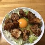 明るい農村 - 日替わりランチ、鶏のからあげ丼