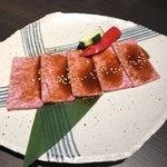 熟成焼肉 八億円 - 特上カルビ