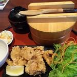 91554521 - 1808_EDOSAWA -江戸沢-_Karaage Meal Set@58,000Rp(唐揚げおひつ定食)