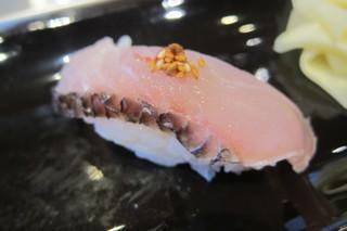 寿司安 - 【初日】真鯛の炙り