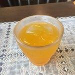 カナール - 食後のオレンジジュース