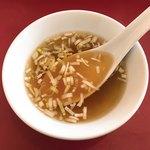 四川菜館 - スープ