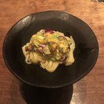 ラパルタメント ディ ナオキ - ムール貝と枝豆のパスタ