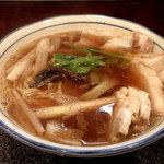烈志笑魚油 麺香房 三く - 肉かけ