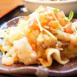 中華レストラン包茶 - 豚しゃぶサラダ
