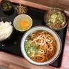 谷川岳パーキングエリア(上り線) スナックコーナー - 料理写真:セット