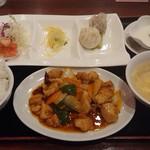 91565704 - 選べるセット   鶏肉と野菜の四川風炒め
