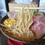 荒川らーめん魂 あしら - 自家製麺(特製味噌)