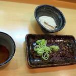 銘酒逸品 風来 - 蕎麦がき練り_800円