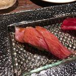 鮨 なかや - 料理写真:中トロ3枚ヅケ