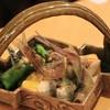 東間 - 料理写真:鮎をやいてくれました