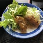 1988 Quan - 揚げ春巻き サラダ