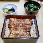 川栄 - ■鰻重 上 2200円