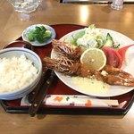 うえむら - 料理写真:特大えびふらい定食 1750円