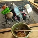 自然薯料理 やまたけ - やまたけ膳の田楽