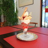 マリエ - 料理写真:桃パフェ