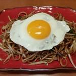 バソキ屋 - 【2018/8】麺焼きそば+目玉焼