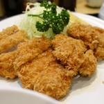 91578137 - ヒレカツ定食(アップ)