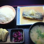 祭 - サバの味噌煮定食
