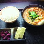 祭 - チゲ鍋定食