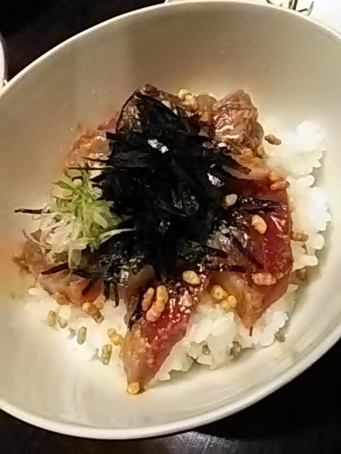 土佐料理 司 高知本店 - 鰹茶漬け