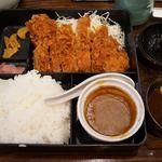とんかつ三太 - カツカレー重 1300円