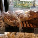 ブーランジェリー&カフェ マンマーノ - ちぎりパン