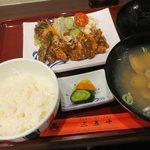 三陸味処三五十 - 元祖南蛮肉定食(¥950)