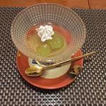 日本料理 空海 - デザート