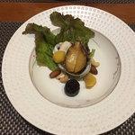 日本料理 空海 - 鮑・蛸・木の実バター醤油焼き