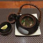 日本料理 空海 - 早松茸土瓶蒸し