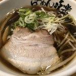 利尻らーめん味楽 - 料理写真:今回も 焼き醤油ミニラーメン 570円
