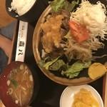 和風レストラン 喜八 - お肉の量も多い(*^o^*)